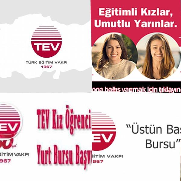 Türk Eğitim Vakfı (TEV) Öğrenci Destekleri